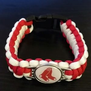 Boston Red Sox Para Cord Bracelet NEW